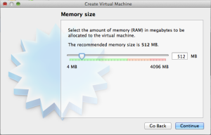 512MB RAM might be overkill, but I have 16 GB to spare