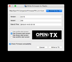 OpenTX Flash
